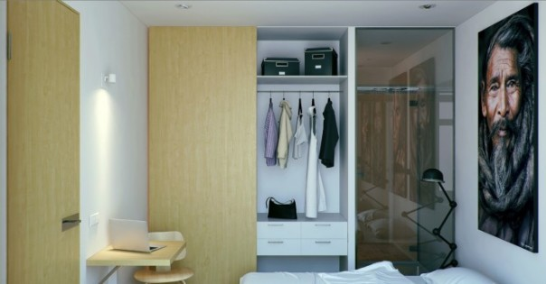 nội thất căn hộ hiện đại