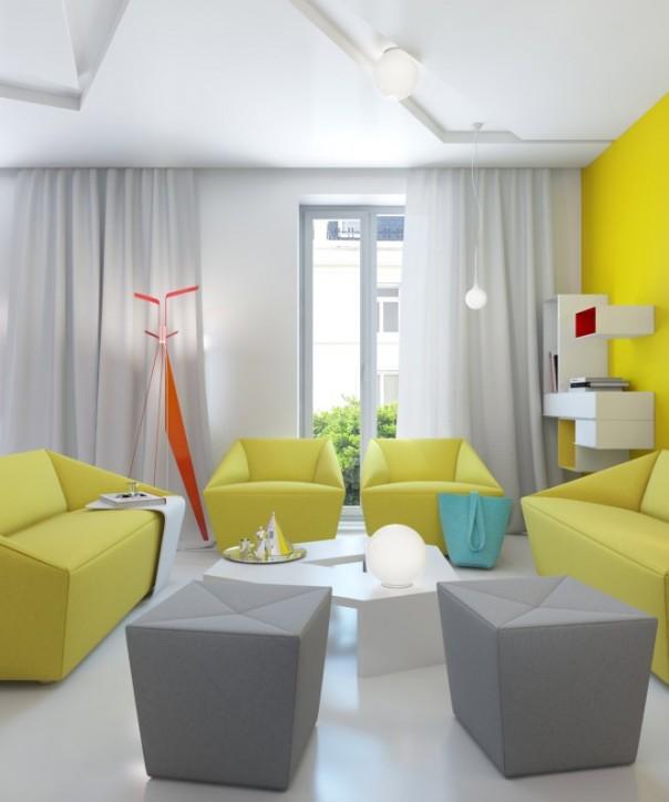 nội thất căn hộ nhỏ